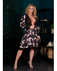 Халат принт Maranto Livia Corsetti Fashion